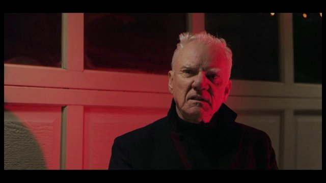 Malcolm McDowell shows up for precisely no reason at all.
